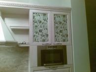 Кухненски мебели от материал MDF естествен фурнир и ясен