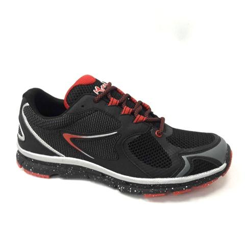 Мъжки маратонки-черно с червено.