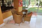 Вътрешна и външна маса и стол от естествен ратан със страхотно качество и издръжливост