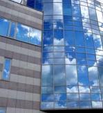 окачена стъклена фасада по поръчка