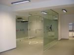 Изработка на интериорни врати от стъкло тип Подвижна стена