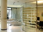 стена преградна стъклена