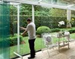сгъваема система от стъкло
