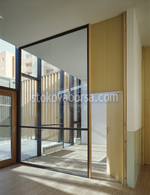 стени стъклени преградни