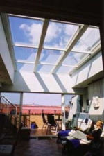 Изработка на стъклени покриви, Монтаж на покриви от стъкло