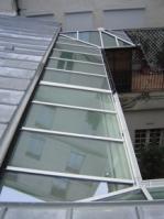 покрив стъклен