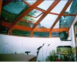 Изработка на нестандартни проекти за стъклени покриви