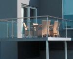 парапет стъклен