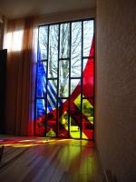 Цветни стъкла и витражи по индивидуален клиентски проект