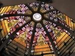 Витражен купол, изработен по поръчка