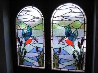 Витражи за прозорци Птици