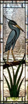 Стъклен витраж Кралска птица