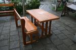 изработка на битова маса с една пейка по поръчка