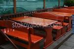 битови маси с пейки за заведения