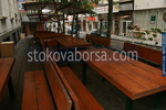 битова маса с пейки за механа или кръчма