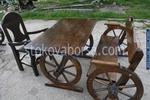 изработка на битова маса с 1 пейка и стол за заведение