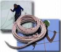Полиамидни въжета за яхти и лодки - 48 мм