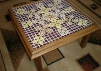 маса със стъклокерамичен плот