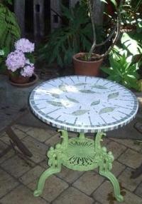 Стъклокерамична облицовка на маса