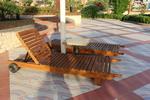 Красиви дървени шезлонзи с безплатна доставка
