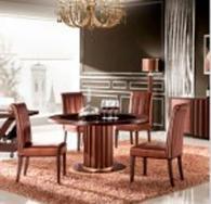 Кръгла маса за трапезария 150/77см
