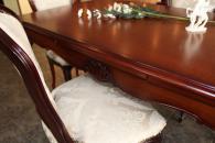 Модерна маса със столове за трапезария
