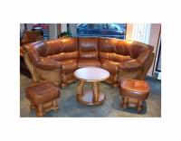 Ъглов диван в класически стил