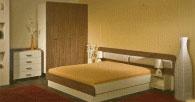 Спален комплект в бежовата гама
