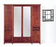 Стилен гардероб с размери 210/191,5/60см