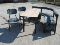 Кухненски комплект диван, стол и маса