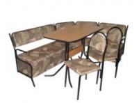 Кухненски комплект тапициран диван и маса