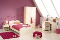 Детска стая - с криволинейно изрязани табли