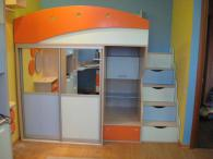 Детска стая в пастелни цветове