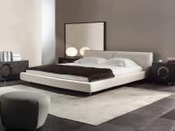 по-поръчка Тапицирани легла с дамаска