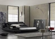 Кръгли тапицирани спални