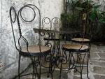 Столове от ковано желязо за външна употреба продажба