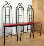 Столове за дома от ковано желязо магазини