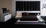 Спалня бяло и черно