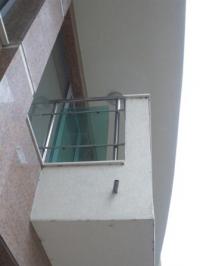 Парапети за тераси от зелено стъкло