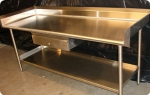 иноксова работна маса за кухня