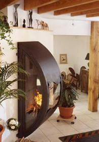 Модерна италианска камина