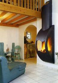 Съвременна италианска камина