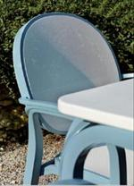 Пластмасови италиански столове ЛУКС с различни плотове Пловдив