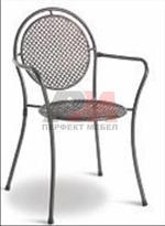 Метален стол за открити пространства Пловдив