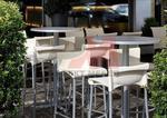 Метална маса за ресторант за открити пространства Пловдив