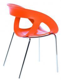 продажби Дизайнерски стол с кожа или дамаска