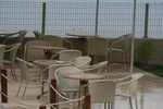 Маси и столове от ратан слонова кост за външно и вътрешно ползване