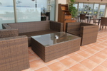 Уникални маси и столове от ратан за интериор