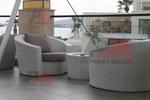 Дизайнерски маси и столове от ратан за интериор