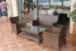 Модерни маси и столове ратан за заведение